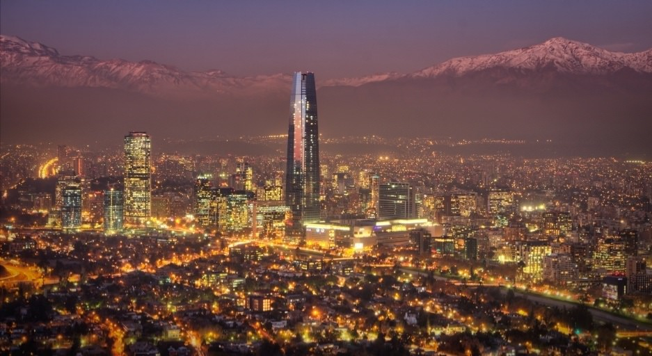 santiago_city_night