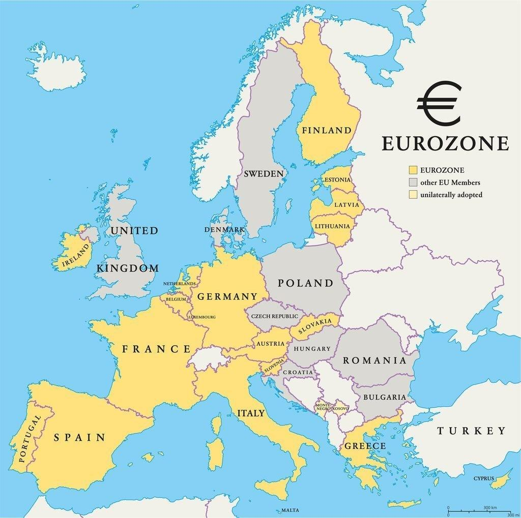 Which Countries Do Not Use the Euro?
