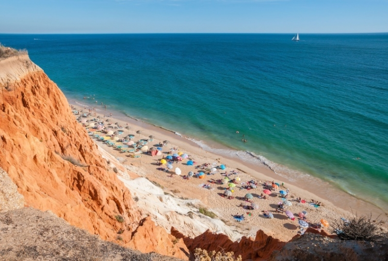 falesia_beaches in southern Portugal