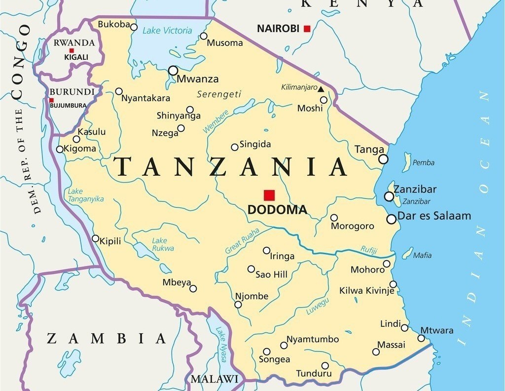 map_where_to_go_in_tanzania