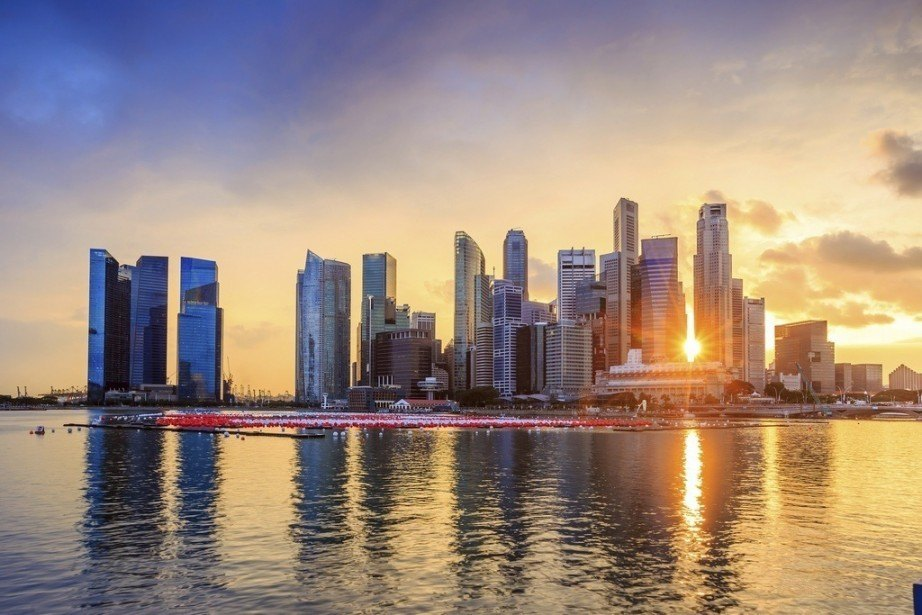 what to do in singapore skyline sunset city water