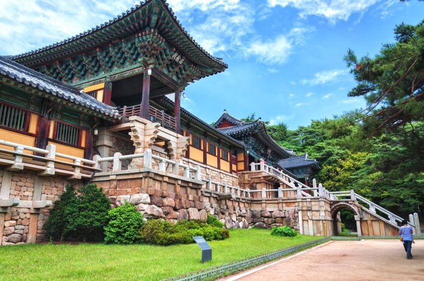 gyeongju south korea temple ancient history tour