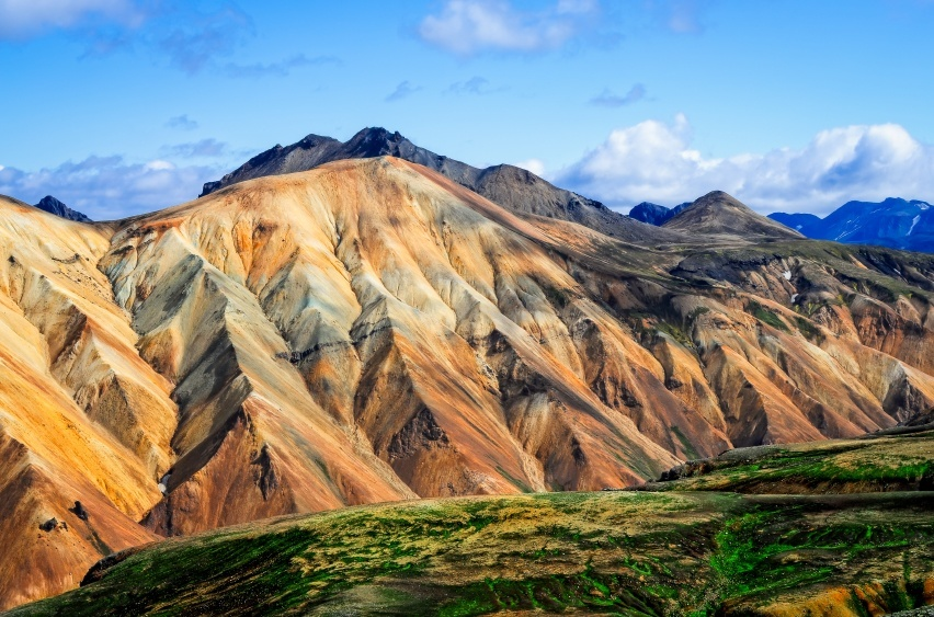 landmannalaugar mountains colored remote iceland hiking