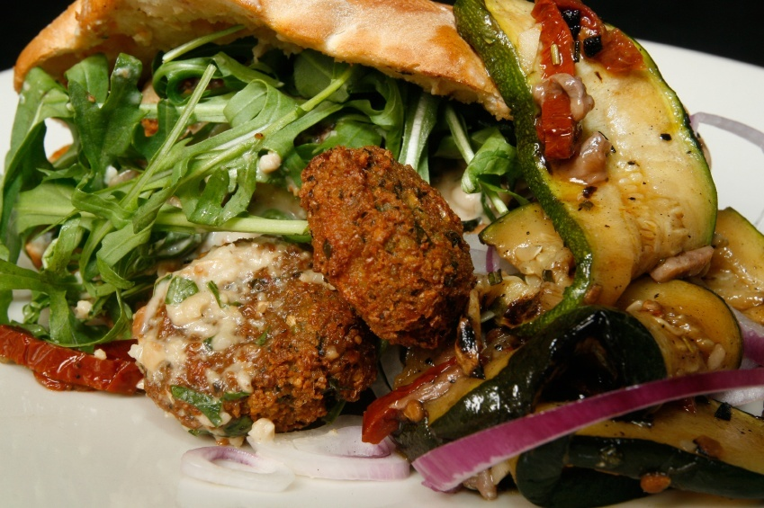 falafel food israel cuisine green