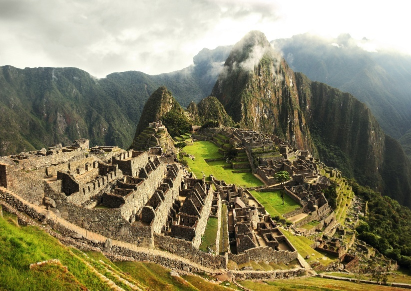 machu picchu inca peru city Colombian wonder
