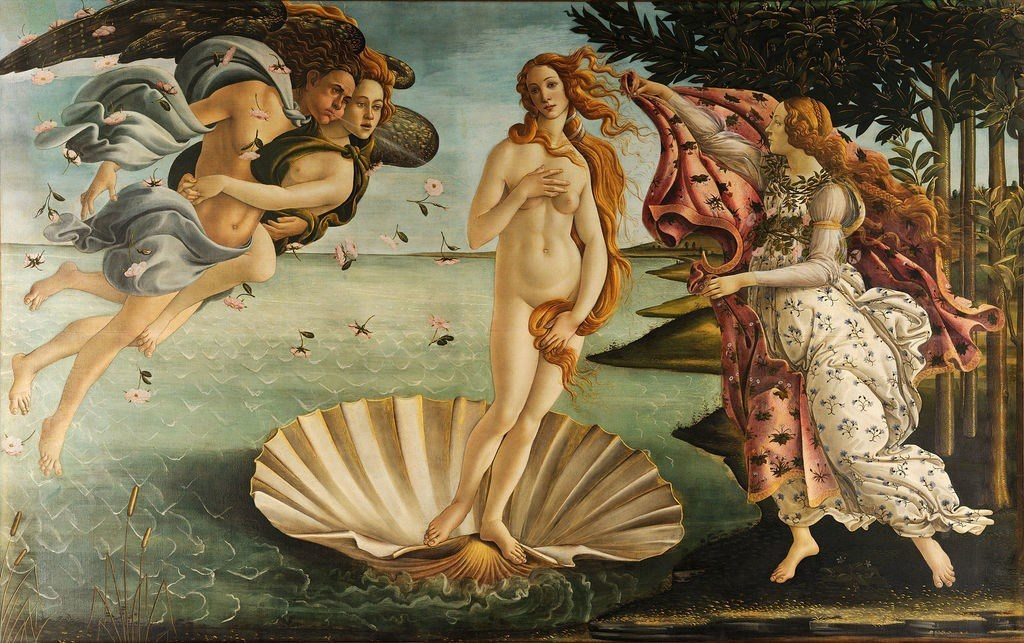 birth of venus botticelli painting renaissance
