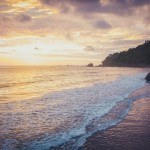 where to travel in costa rica beach sunset sand ocean