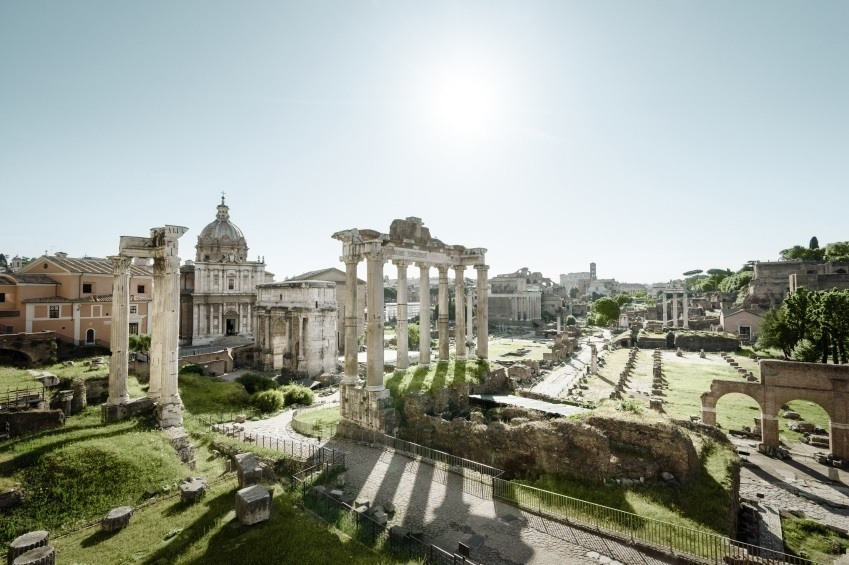 rome ruins italy forum ancient republic