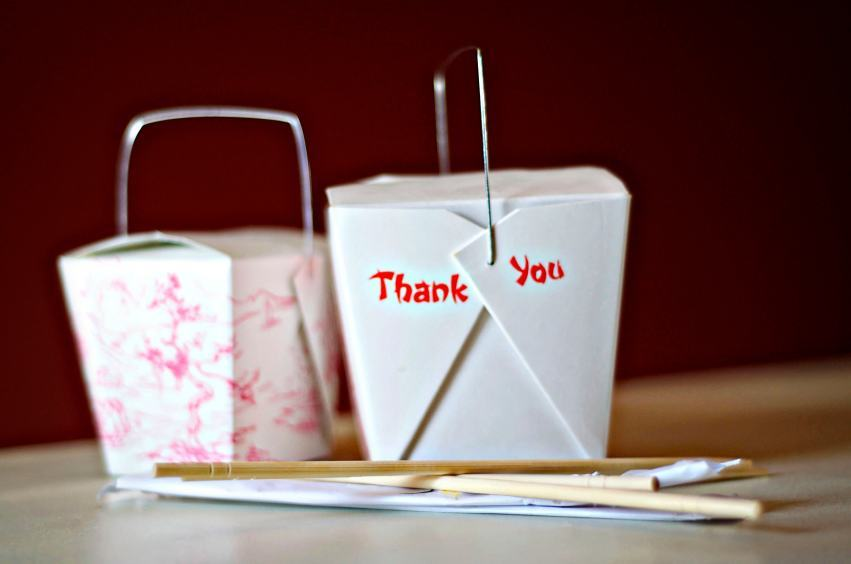 chinese takeout food cuisine restaurant thank you