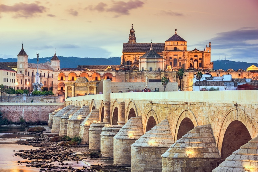 cordoba spain bridge roman city