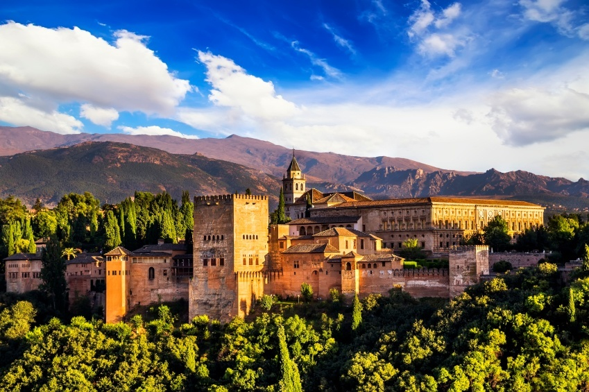 granada fort spain andalusia city