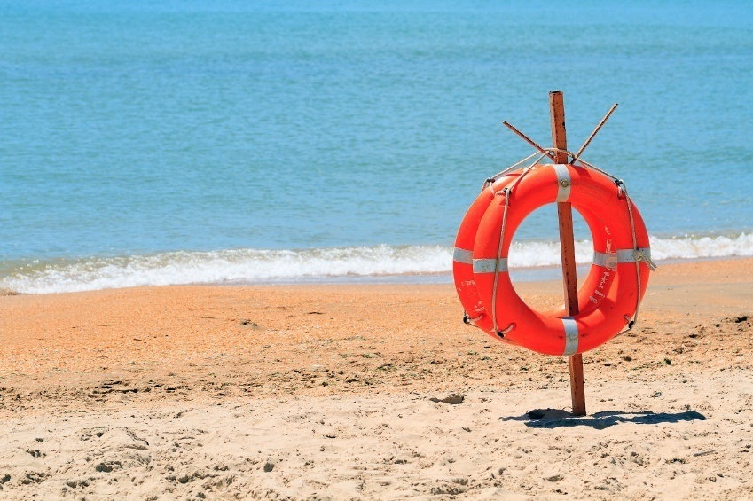 life buoy beach safety water rescue