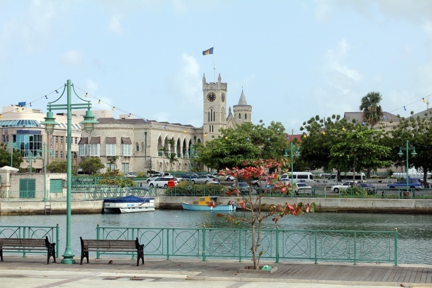 bridgetown colonial barbados city town
