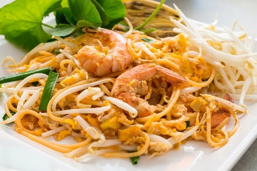 food thailand pad thai cuisine noodle rice