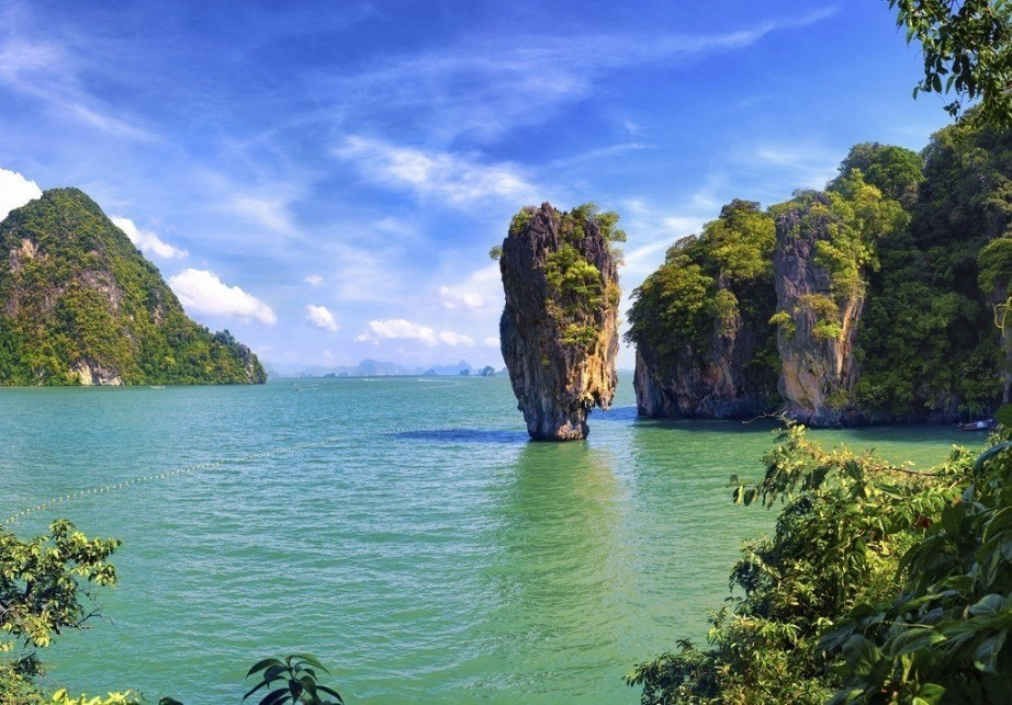 visit thailand travel guide island karst water coast sea