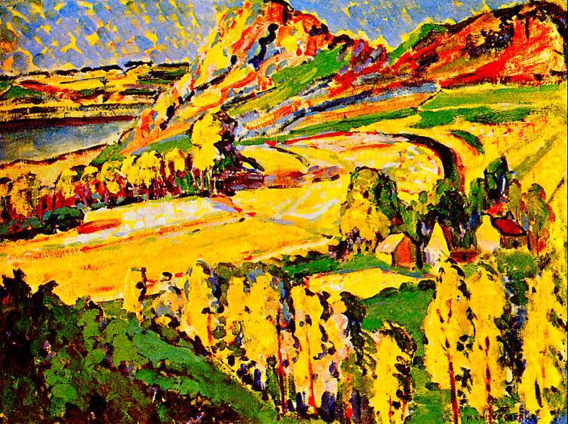 emily carr painting france autumn