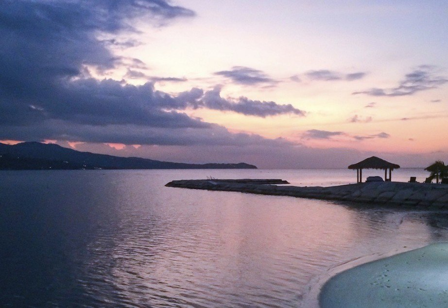 visit jamaica montego bay sunset caribbean sea