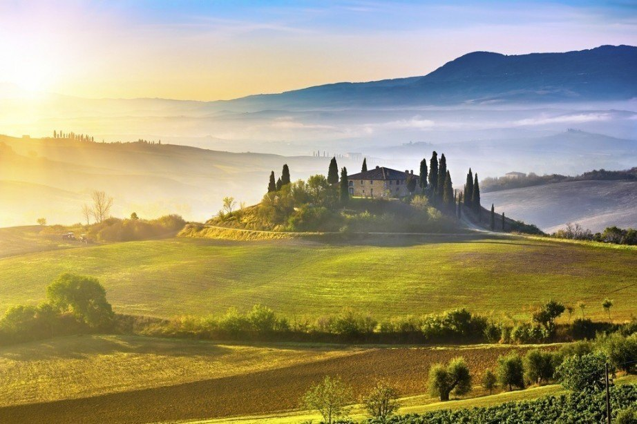 best spring getaways tuscany sun italy landscape