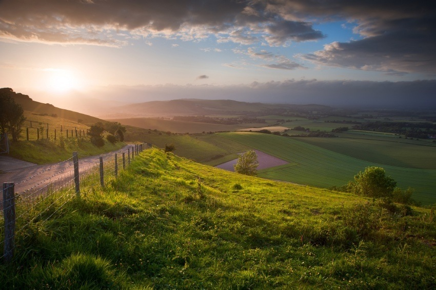 south downs southern england landscape sussex