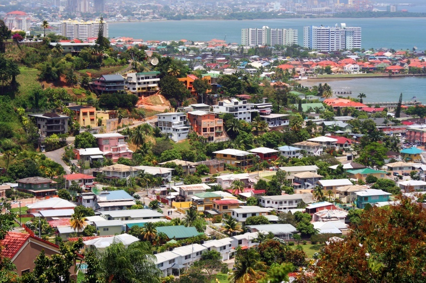 port of spain trinidad city port commercial shipping