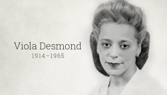 viola desmond birth death portrait