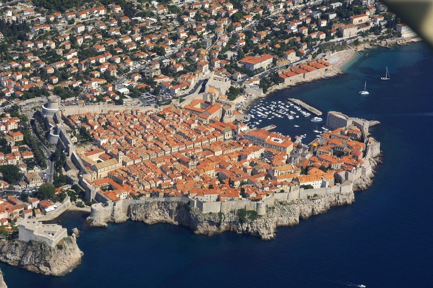 game of thrones croatia walled city dubrovnik sea