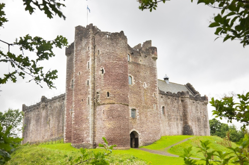 doune castle scotland game of thrones old