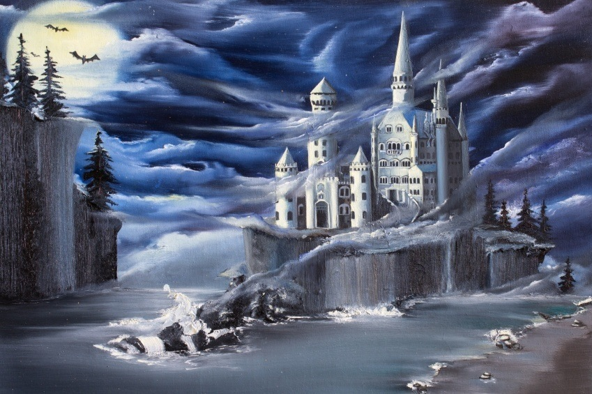 seven kingdoms game of thrones song of ice and fire fog castle white flying