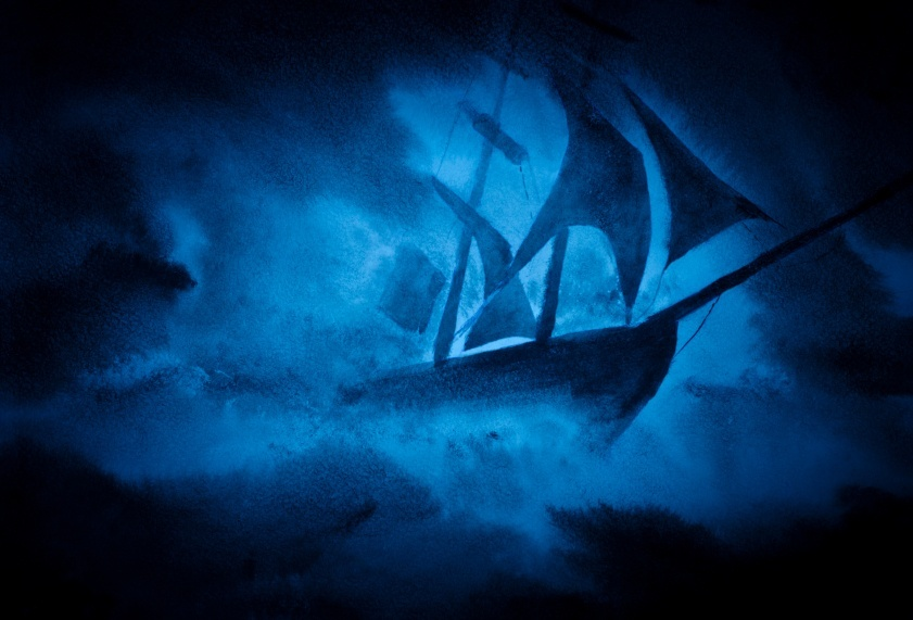 game of thrones seven kingdoms art song of ice and fire ship dark sailing storm