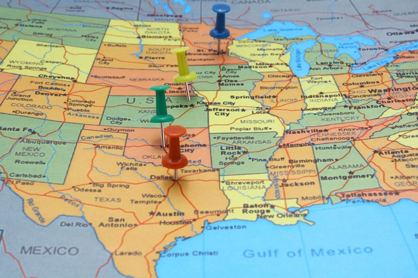 united states texas pins map borders country