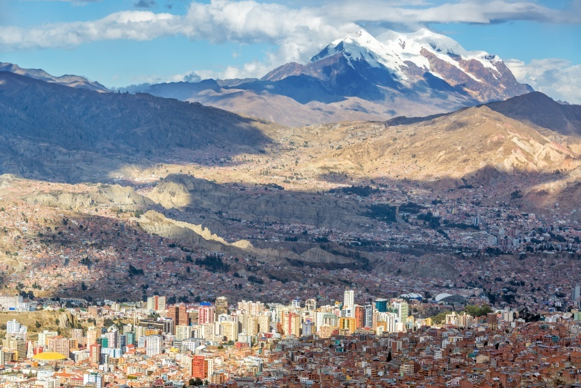 la paz bolivia mountains altitude alpine