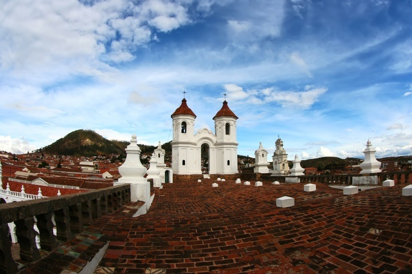 sucre bolivia white city colonial architecture