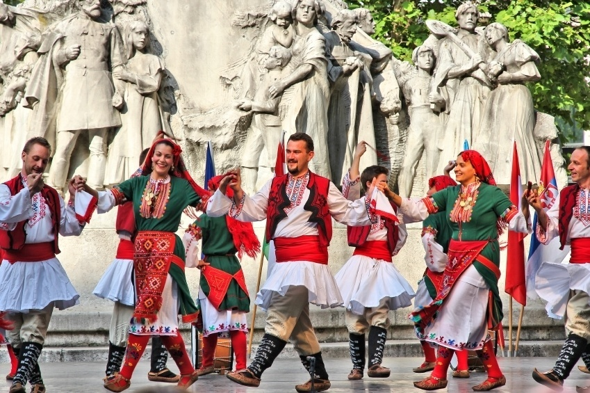 dance bulgarian traditional culture costume group