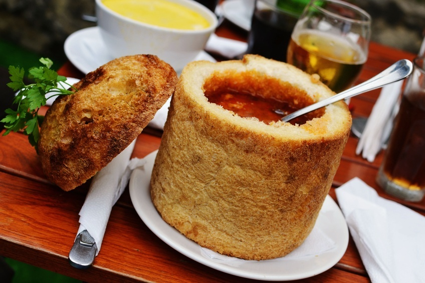 food culture romania cuisine soup bread