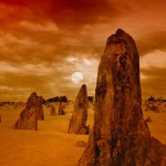 best places to travel western australia sunset pinnacles outback