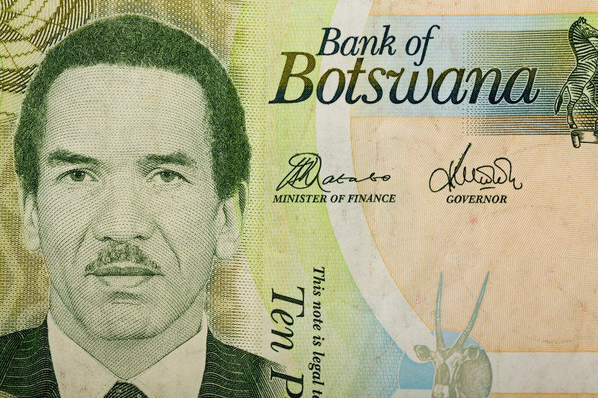 botswana pula portrait cash money