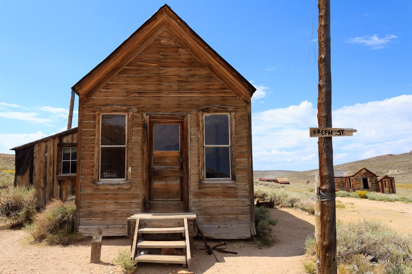bodie california ghost town wild west america