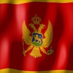 montenegro flag red gold eagle 2 head crest sigil