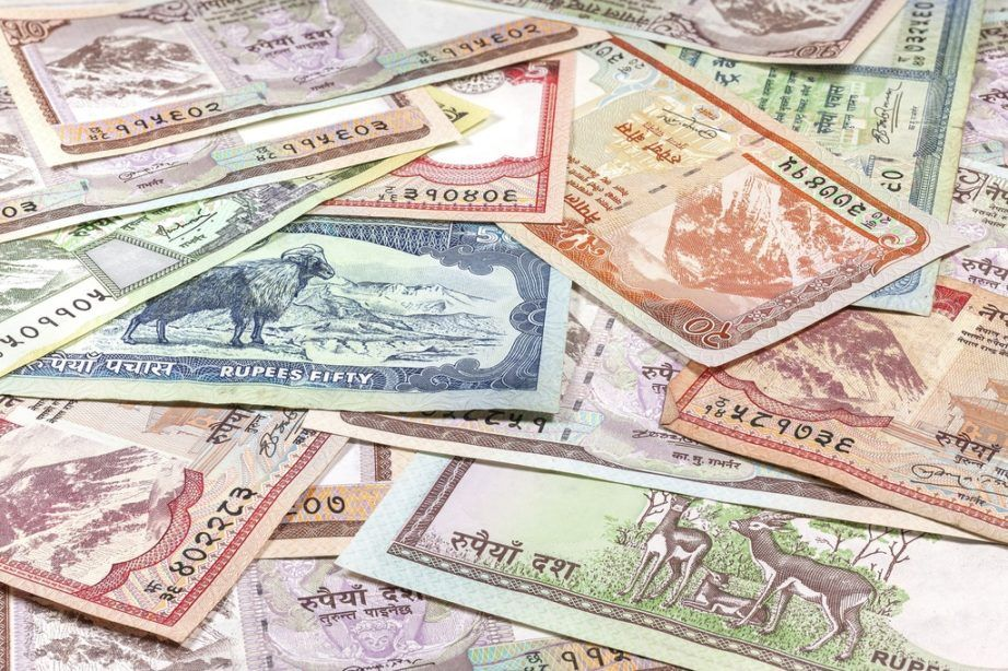 nepalese rupee nepal cash money