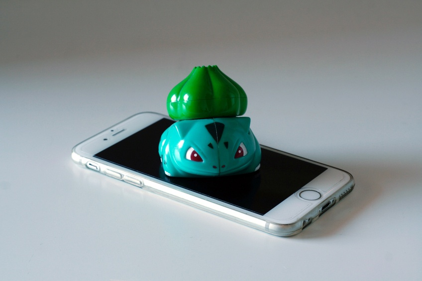 pokemon bulbasaur iPhone screen