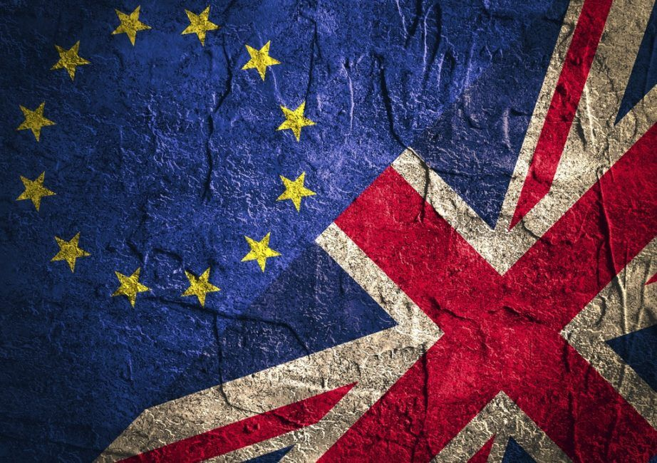 brexit changed britain flag uk union jack eu stars