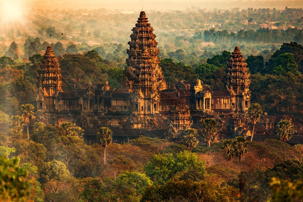 cambodia travel guide angkor was temple city ancient tourist