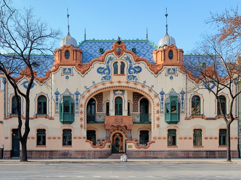 subotica serbia manor house architecture day