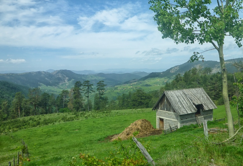 zlatibor serbia landscape cottage nature countryside