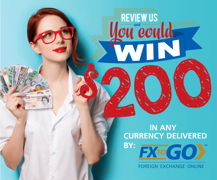 enter to win 200 dollars fxtogo yelp google plus