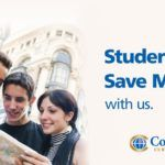 student discount rate exchange happy people