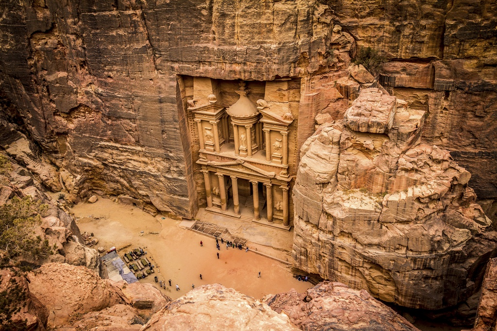 jordan travel petra ancient city desert middle east