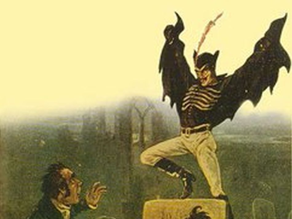 spring heeled jack victorian london england urban legend penny dreadful