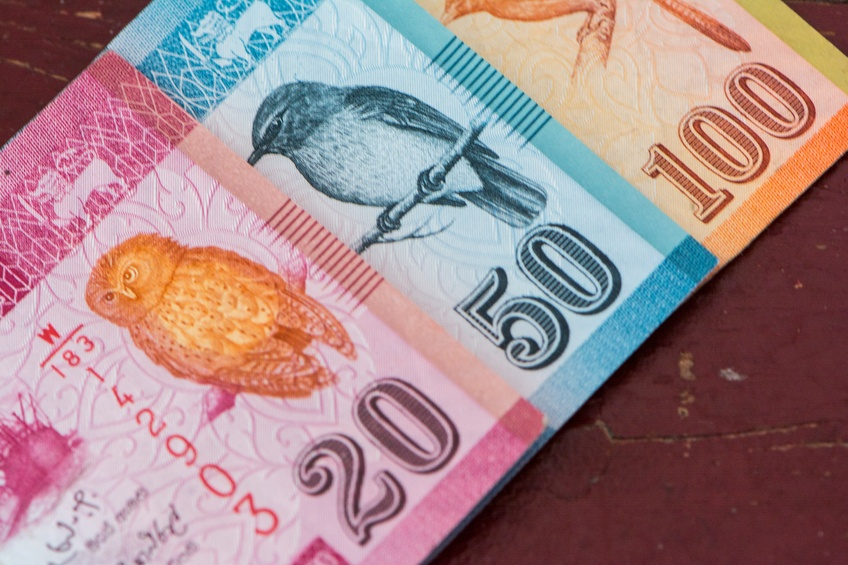 sri lankan rupee birds notes cash bills