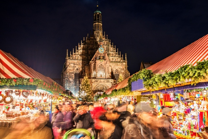 nuremberg germany christmas market cathedral religion